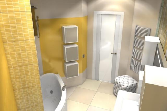 Дизайн квартиры, санузел, Рис 2