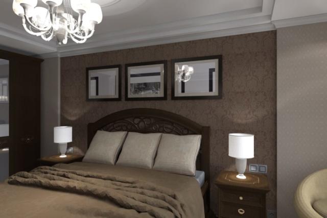 Дизайн квартиры, спальня, Рис 2