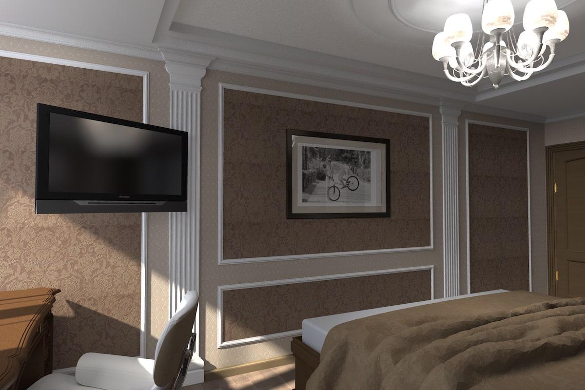 Дизайн квартиры, спальня, Рис 3