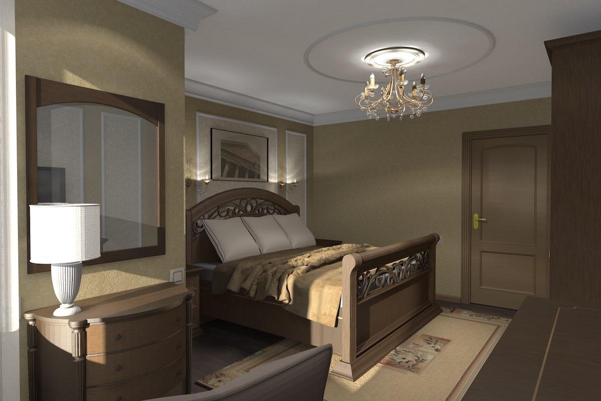 Дизайн квартиры, спальня, Рис 6