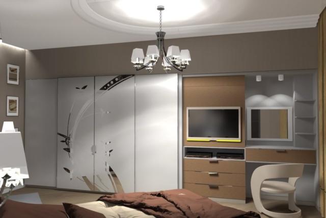Дизайн квартиры, спальня, Рис 7