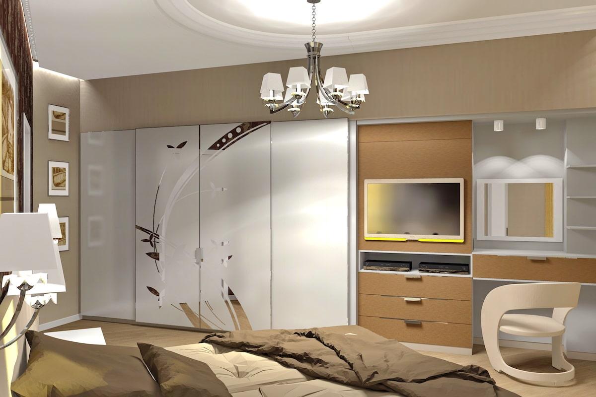 Дизайн квартиры, спальня, Рис 8