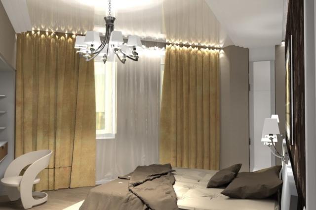Дизайн квартиры, спальня, Рис 9