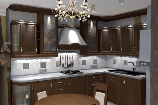 Дизайн квартиры, зал, Рис 3