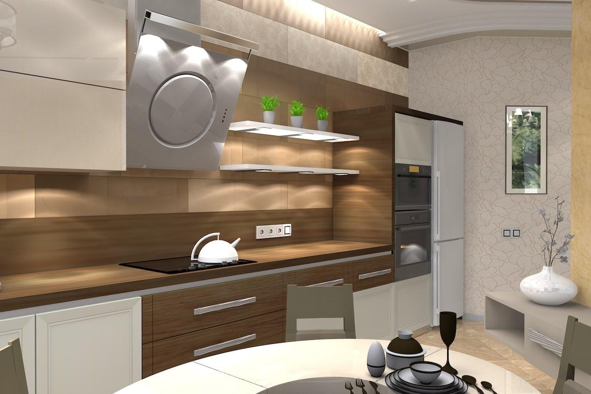 Дизайн квартиры, зал, Рис 7