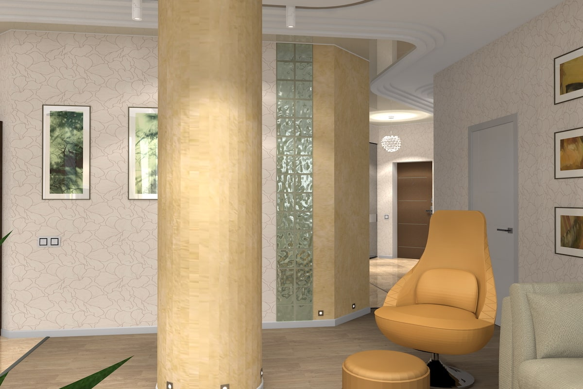 Дизайн квартиры, зал, Рис 8