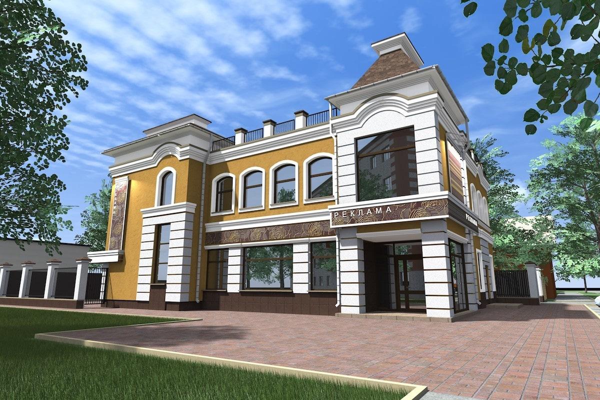 Дом бытовых услуг с помещениями торгового назначения г. Кинешма Рис 1