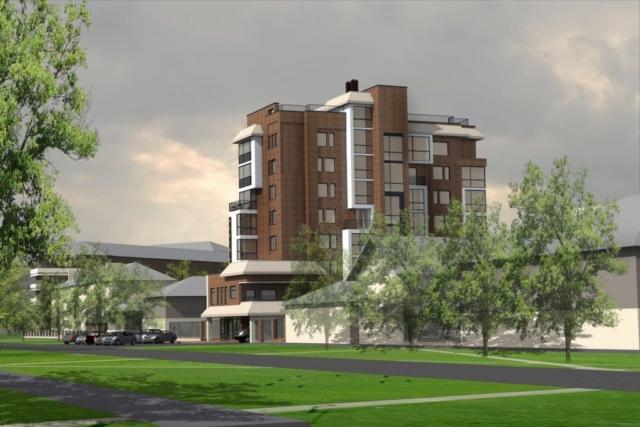 Эскиз многоквартирного жилого здания г. Иваново Рис 2
