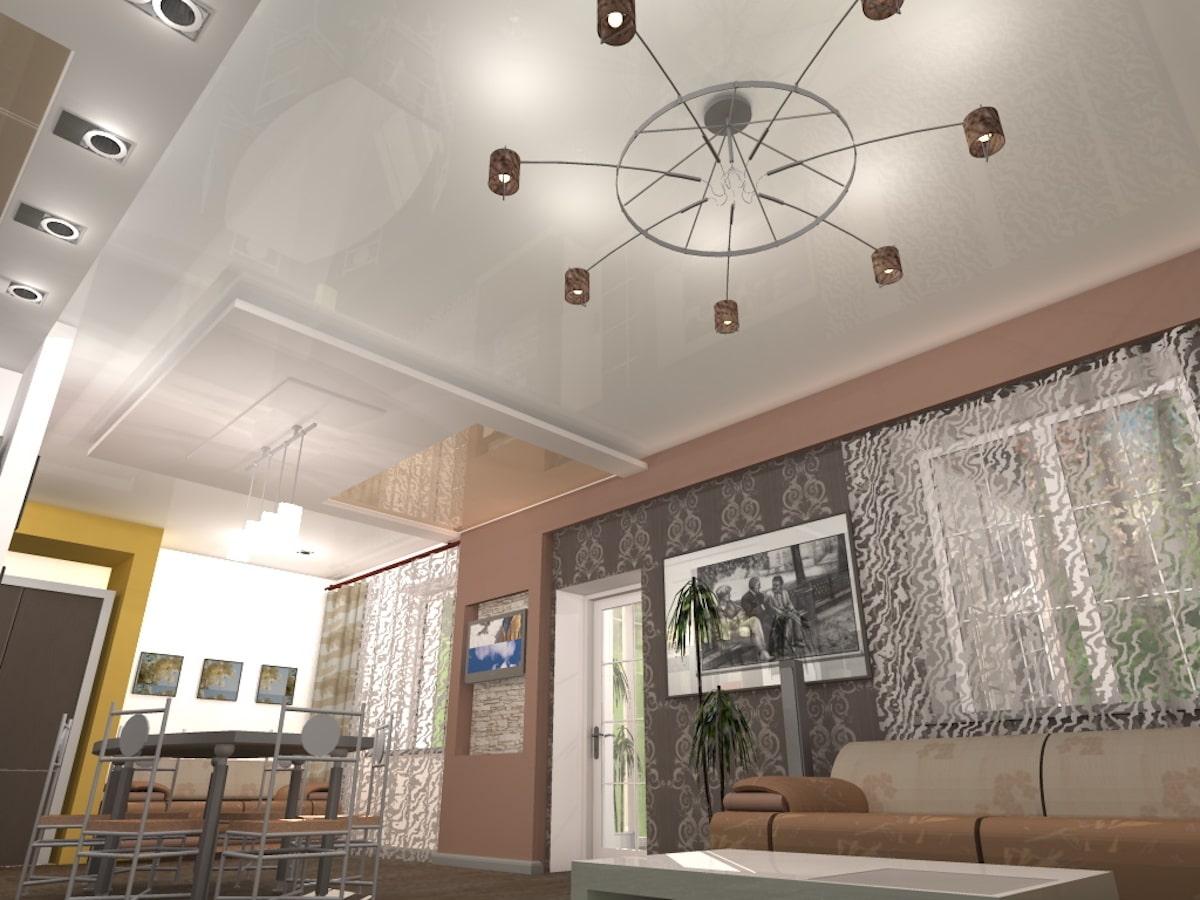 Индивидуальный жилой дом г. Иваново, 1 этаж, зал, Рис 11