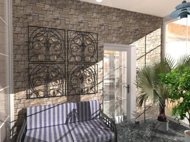Индивидуальный жилой дом г. Иваново, 1 этаж, зал, Рис 5