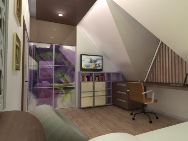 Индивидуальный жилой дом г. Иваново, 2 этаж, 2 спальня, Рис 5