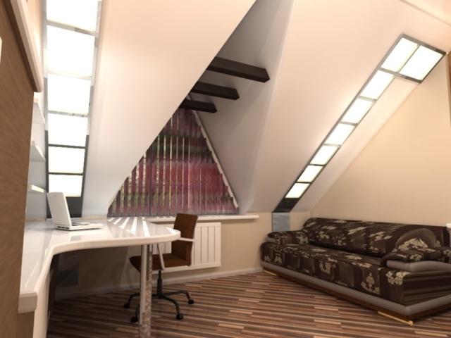 Индивидуальный жилой дом г. Иваново, 2 этаж, 3 спальня, Рис 3