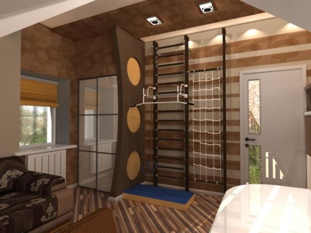 Индивидуальный жилой дом г. Иваново, 2 этаж, 3 спальня, Рис 8