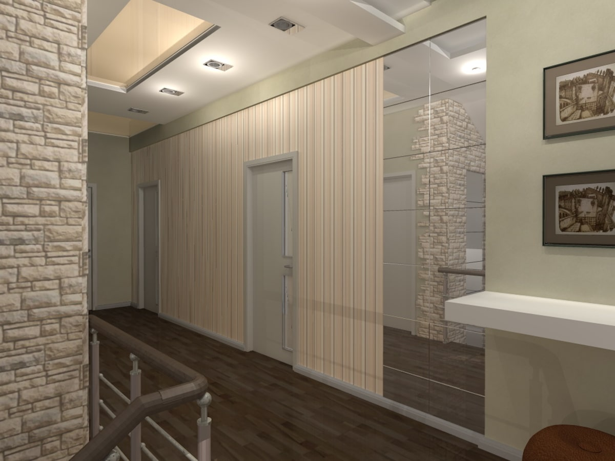 Индивидуальный жилой дом г. Иваново, 2 этаж, холл, Рис 3