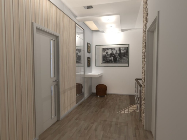 Индивидуальный жилой дом г. Иваново, 2 этаж, холл, Рис 10