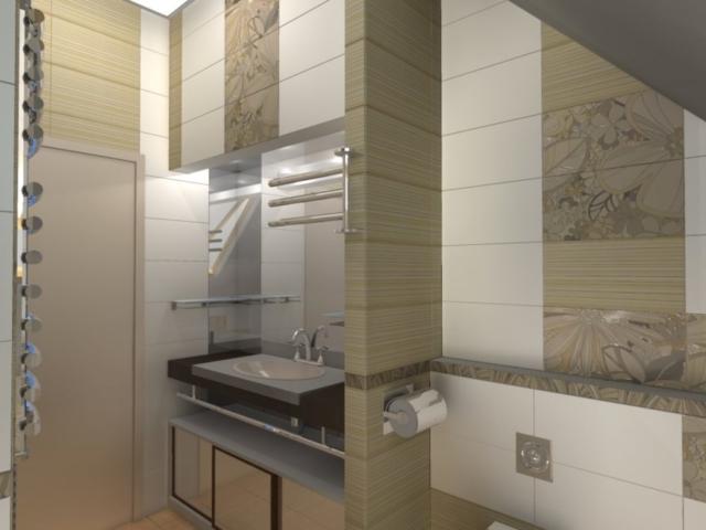 Индивидуальный жилой дом г. Иваново, 2 этаж, санузел, Рис 1