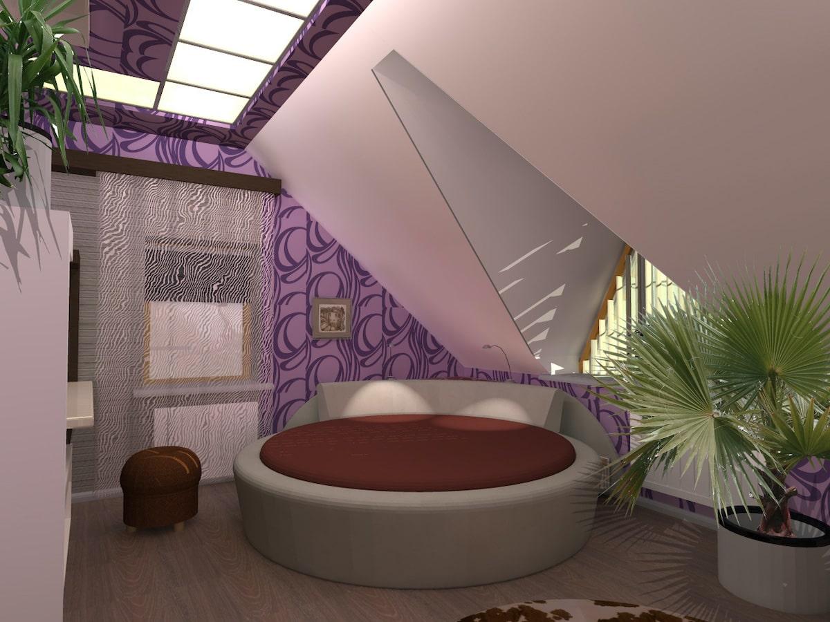 Интерьер дома на одну семью, 2 этаж, 3 спальня, Рис 5