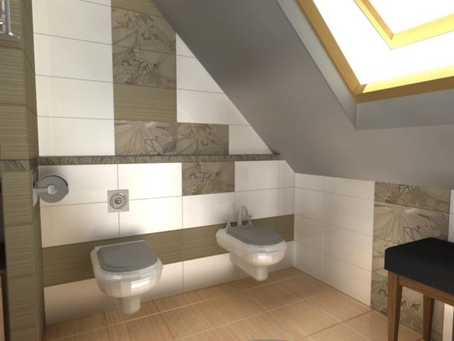 Интерьер дома на одну семью, 2 этаж, санузел, Рис 8