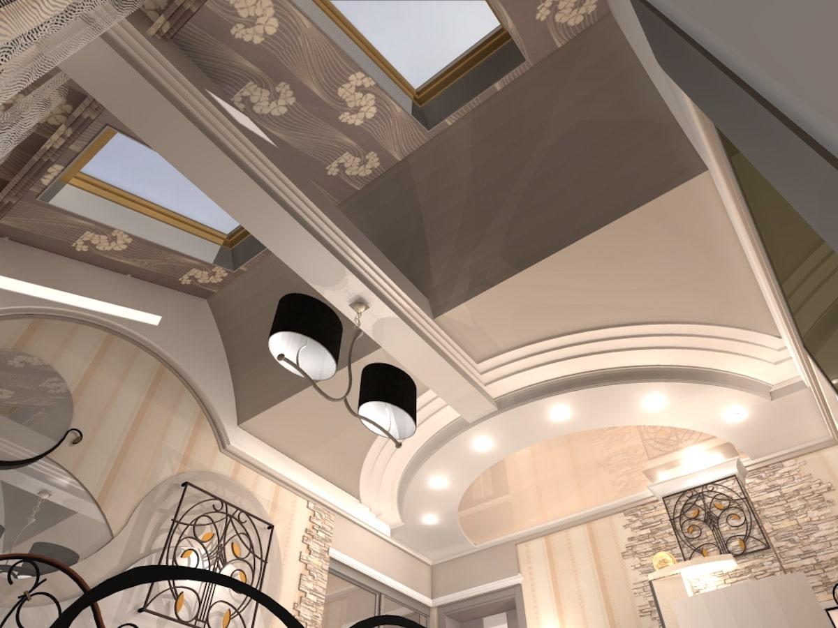 Интерьер коттеджа, 2 этаж, 1 спальня, Рис 5