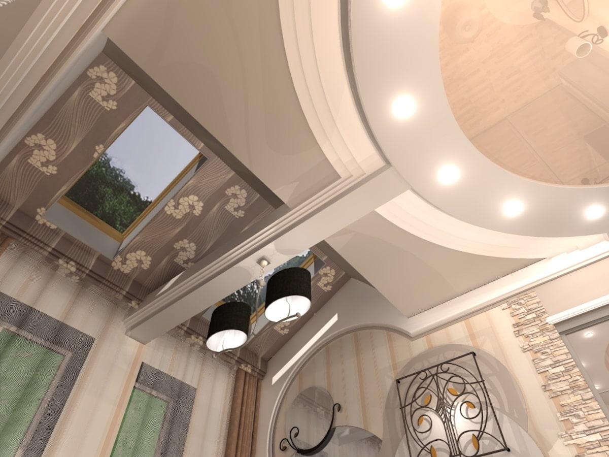 Интерьер коттеджа, 2 этаж, 1 спальня, Рис 6