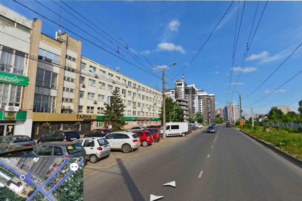 Концепция застройки центра города в рамках ППТ Павловский овраг Рис 13