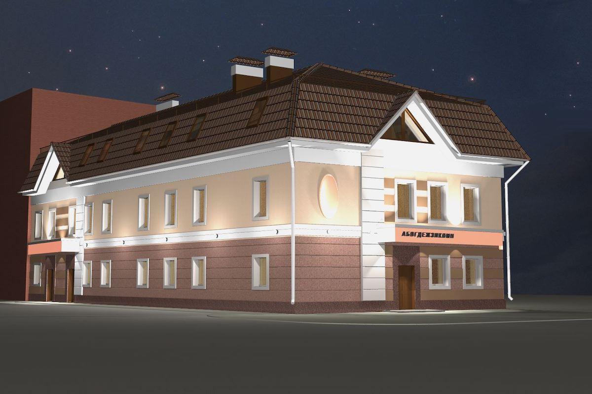 Офисное здание по ул. Смирнова г. Иваново Рис 1