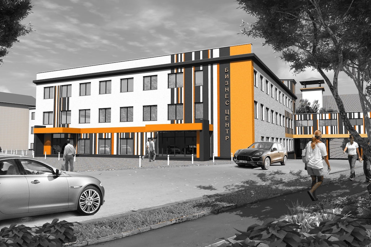 Офисный центр г. Иваново Рис 1