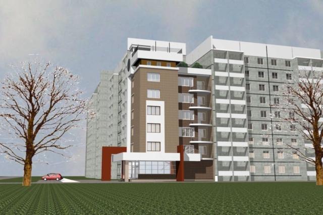 Пристройка многоквартирного жилого дома Рис 2
