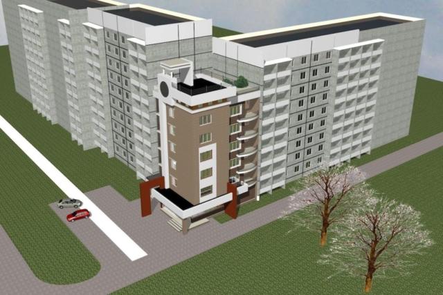 Пристройка многоквартирного жилого дома Рис 5