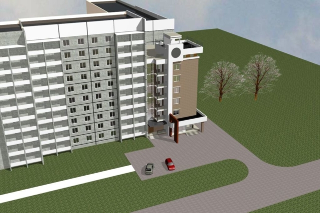 Пристройка многоквартирного жилого дома Рис 4