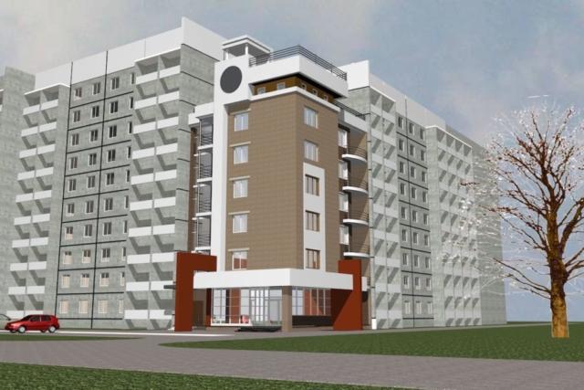 Пристройка многоквартирного жилого дома Рис 3