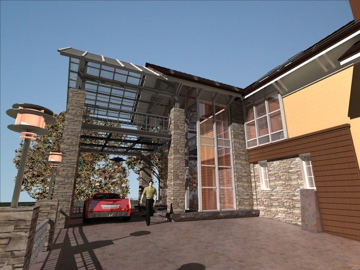 Реконструкция жилого дома в д. Крюково, Рис 1