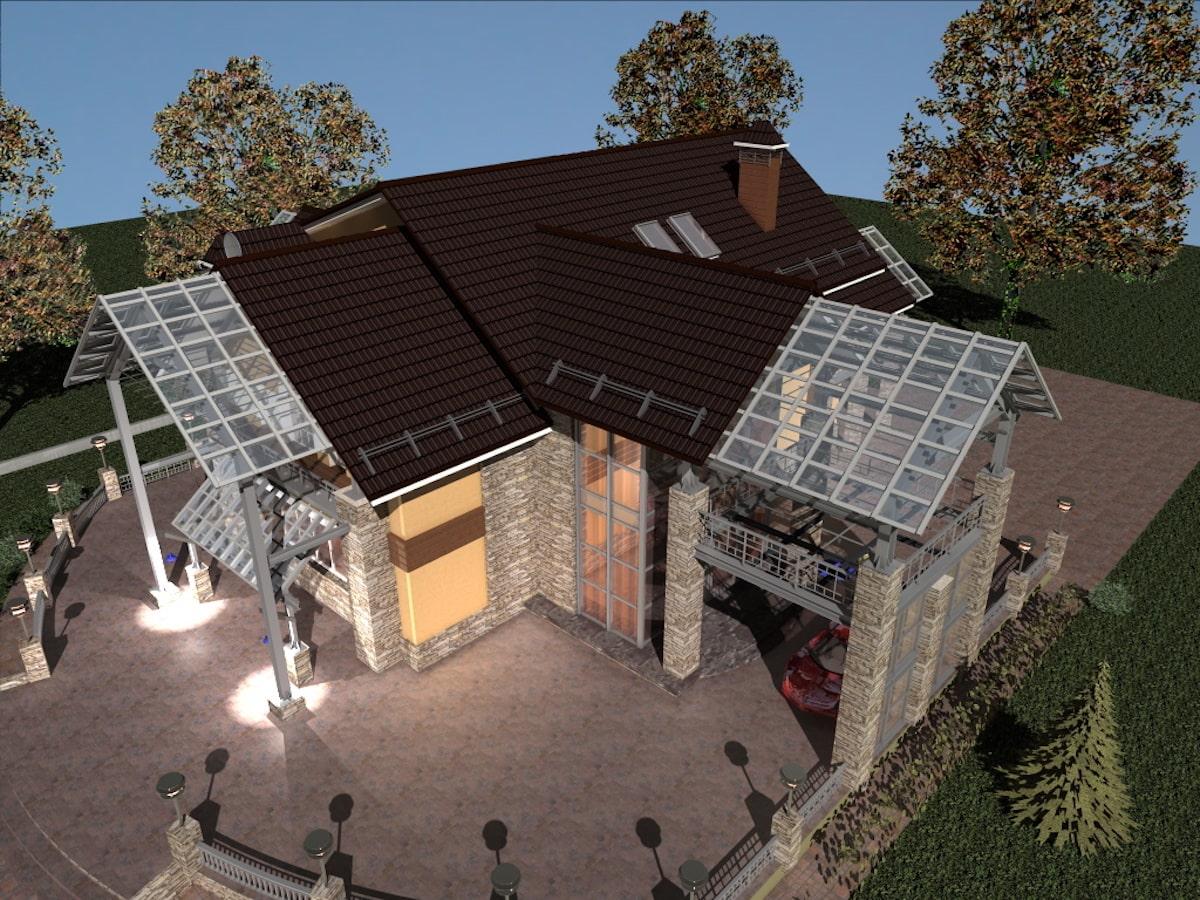 Реконструкция жилого дома в д. Крюково, Рис 9