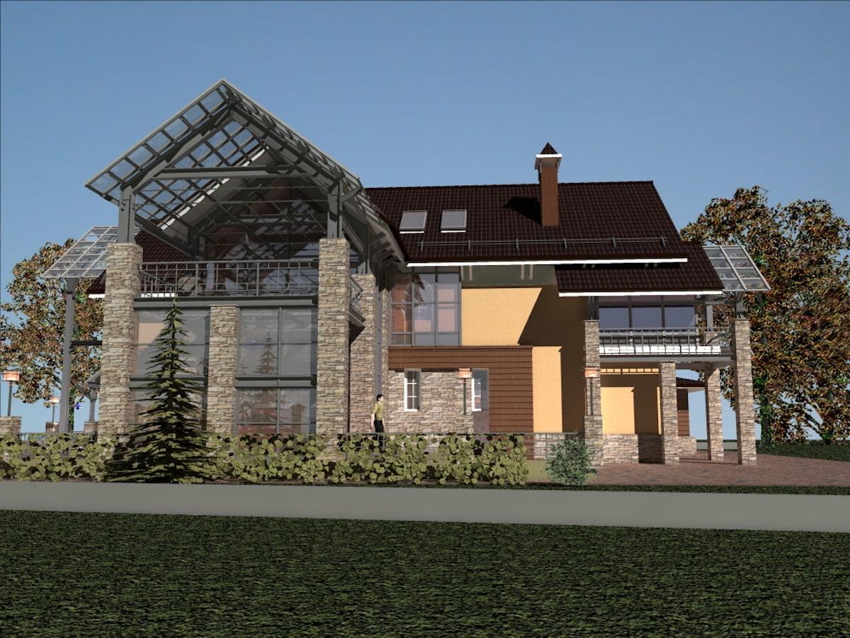 Реконструкция жилого дома в д. Крюково, Рис 11