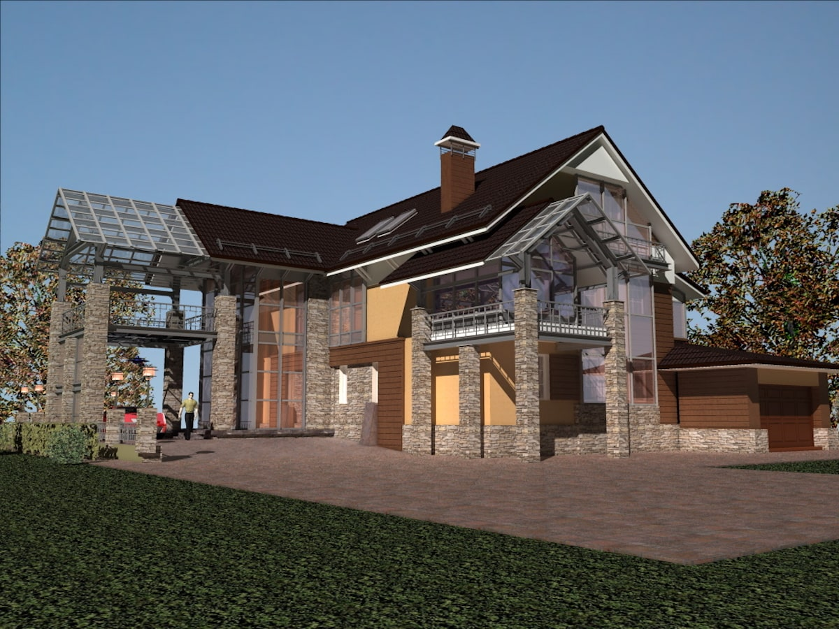 Реконструкция жилого дома в д. Крюково, Рис 12