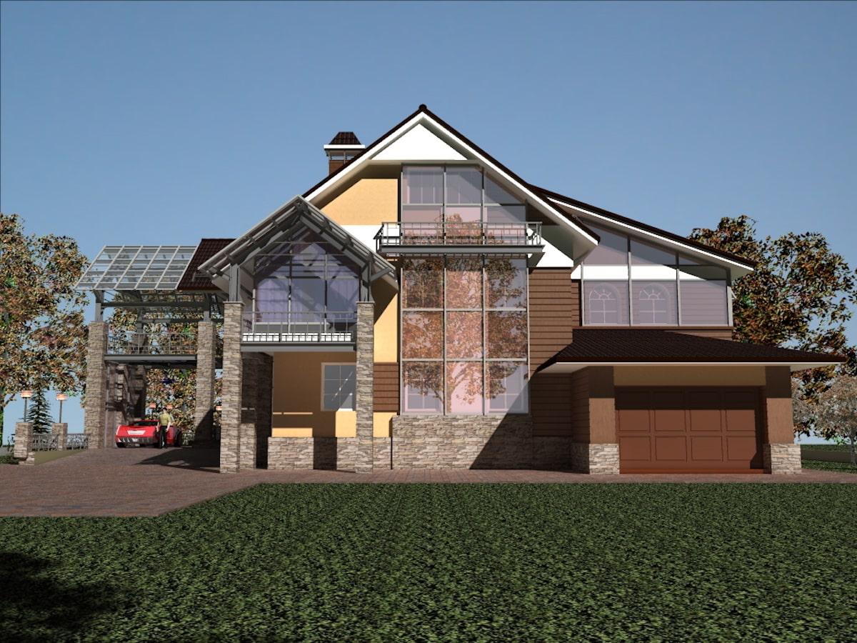 Реконструкция жилого дома в д. Крюково, Рис 13