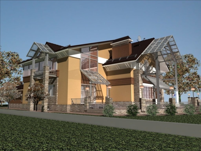 Реконструкция жилого дома в д. Крюково, Рис 14