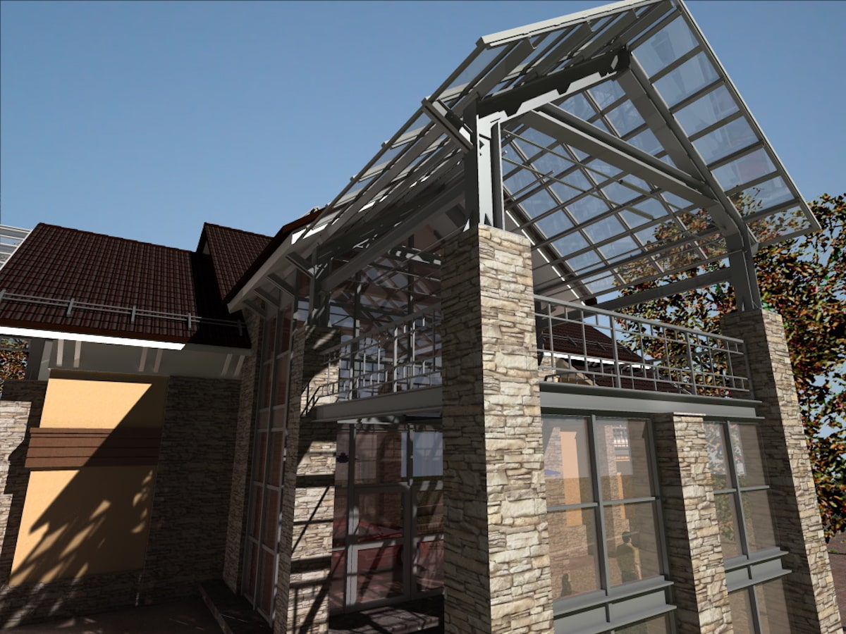 Реконструкция жилого дома в д. Крюково, Рис 2