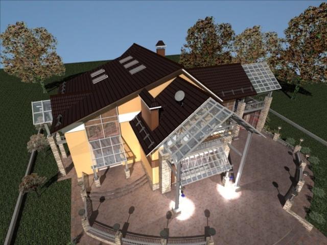 Реконструкция жилого дома в д. Крюково, Рис 4