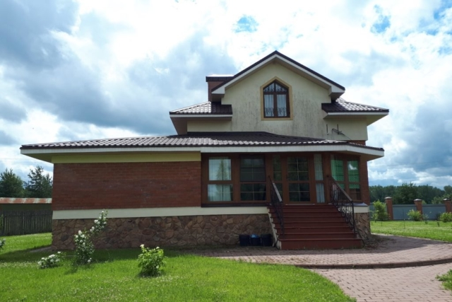 Загородный жилой дом д. Микшино Рис 2