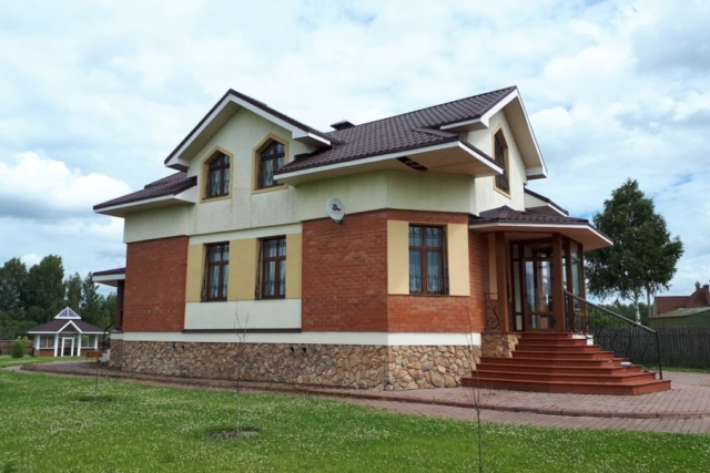 Загородный жилой дом д. Микшино Рис 6