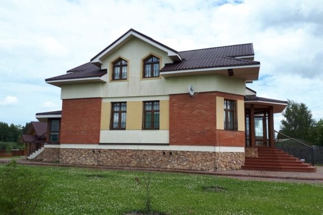 Загородный жилой дом д. Микшино Рис 5