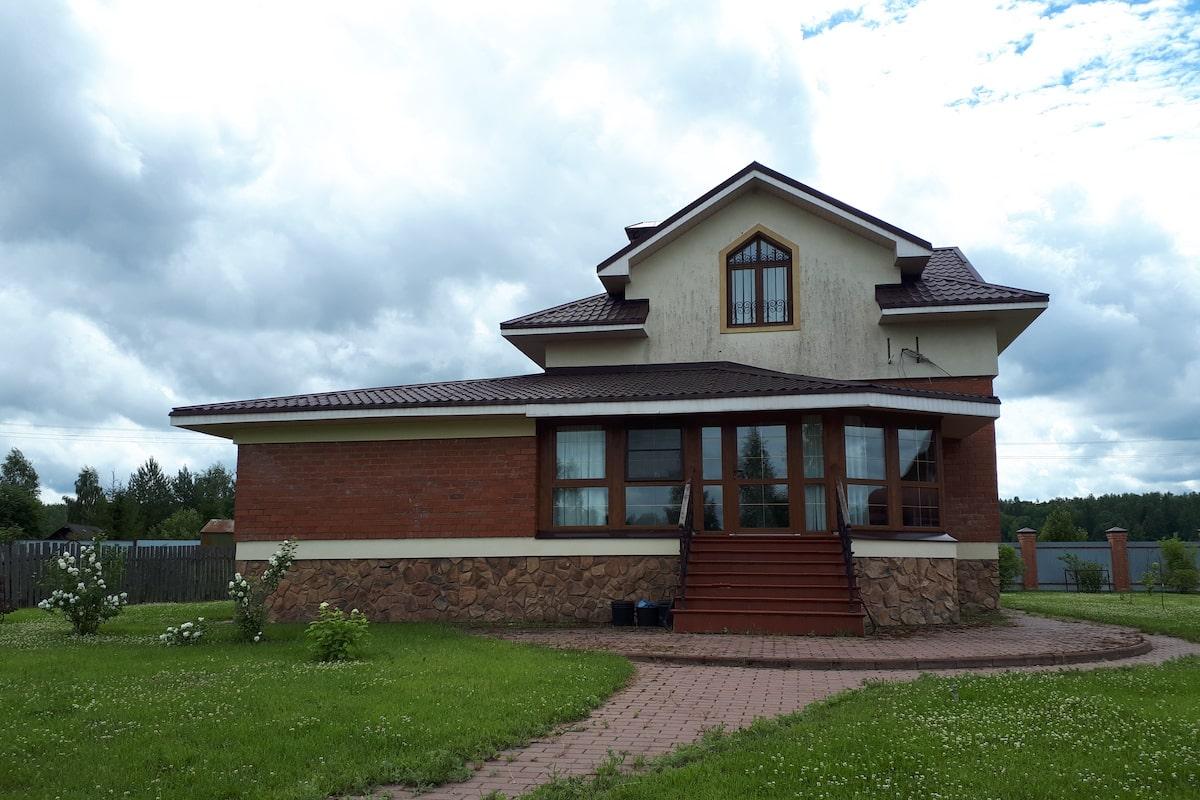 Загородный жилой дом д. Микшино Рис 3