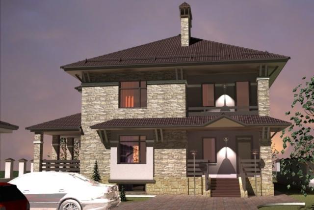 Жилой дом г. Приволжск Рис 2