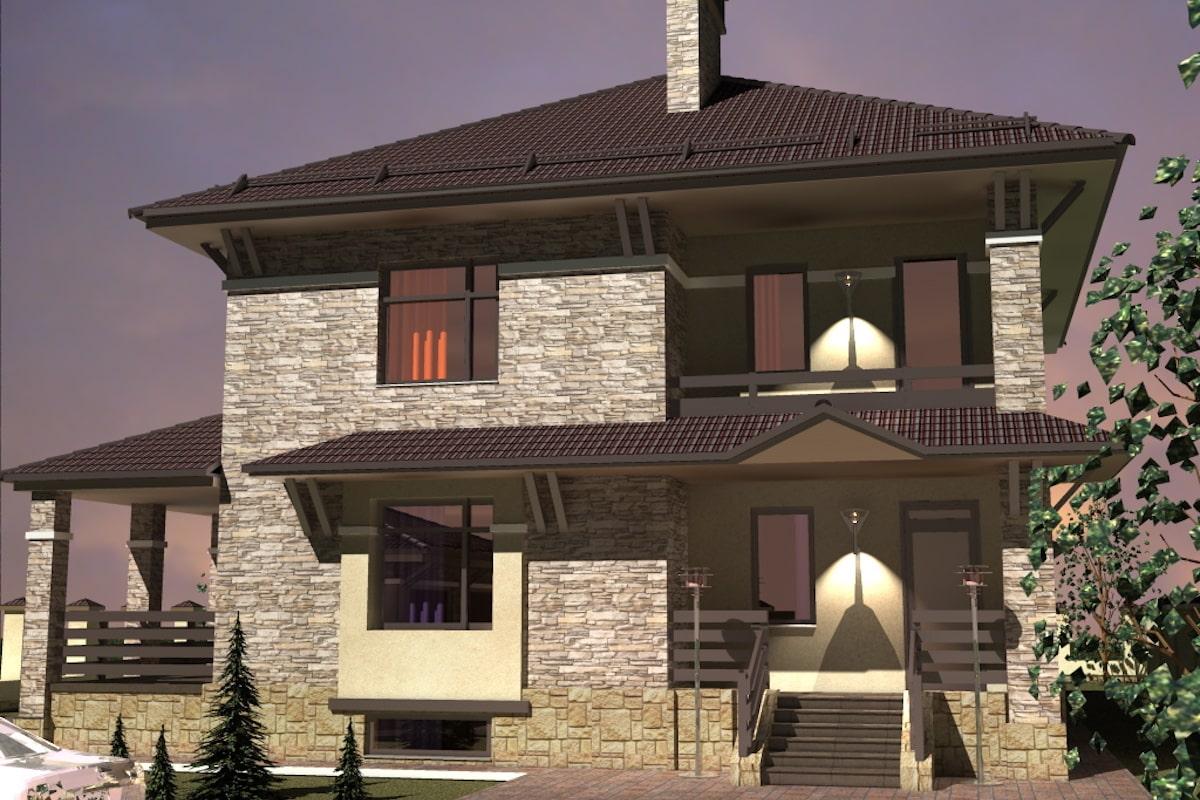 Жилой дом г. Приволжск Рис 3